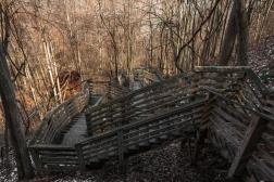 Kaymoor Miner's Trail from Kaymoor Top, WV