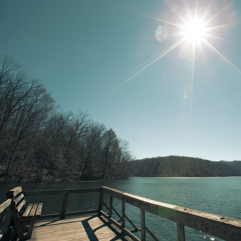 Plum Orchard Lake, WV on March 10, 2014