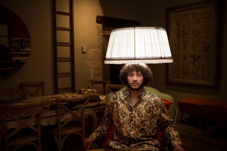 Tyler Burgett, Human Lamp Post - Edited
