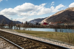Alloy View at Mount Carbon in Valley, West Virginia, 1st Day of Spring, 2014